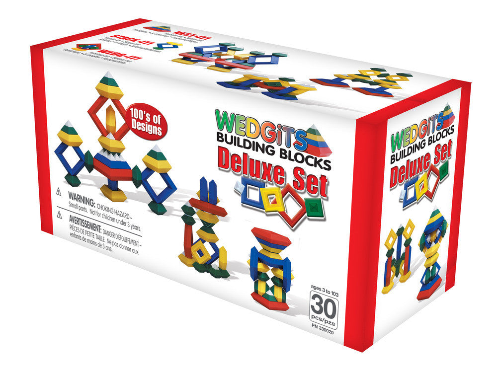 WEDGITS Buillding Set Deluxe - 30 pcs