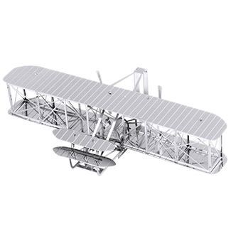 METAL EARTH Wright Brothers Plane - 3D Model