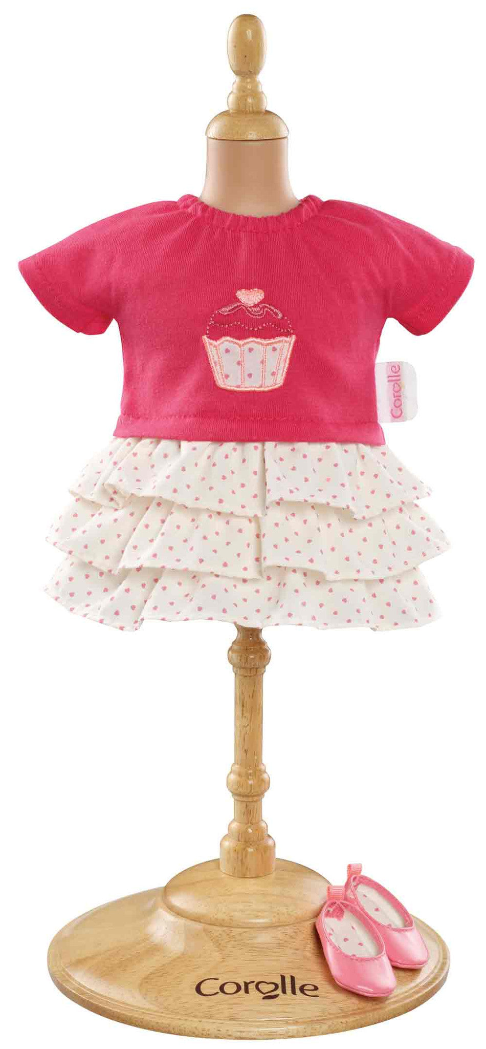 COROLLE - Mademoiselle/Ma Corolle - Clothing - Ruffle Dress & Shoes 36cm