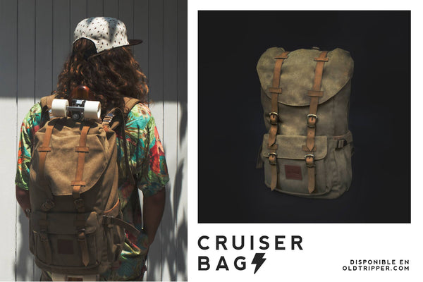 Mochila Cruiser Bag Army 2.0 - Old Tripper