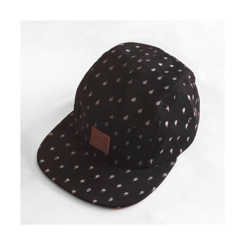 Five Panel Black - Old Tripper