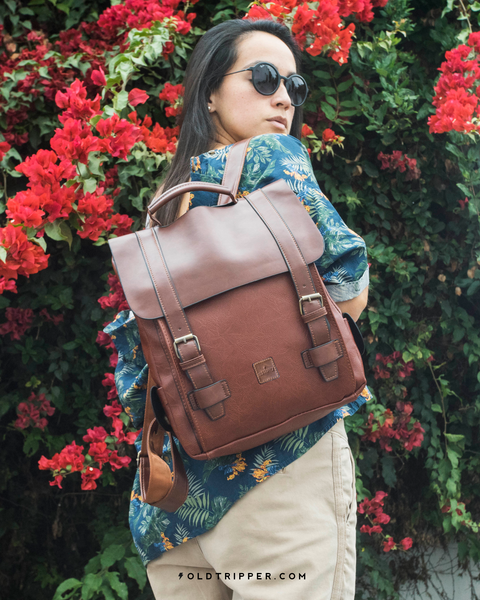 Mochila Retro Bag Sahara - Old Tripper