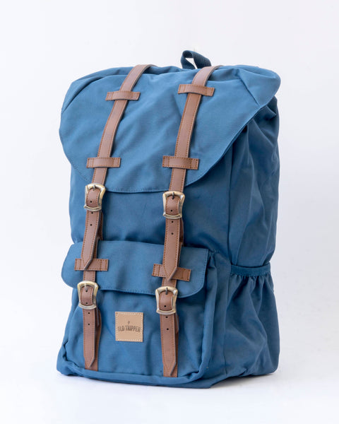 Mochila Cruiser Bag Navy Blue 2.0 - Old Tripper
