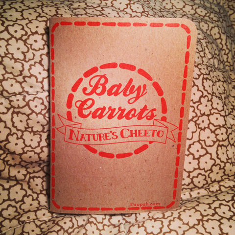 Baby Carrots: Nature's Cheeto Pocket Food Journal