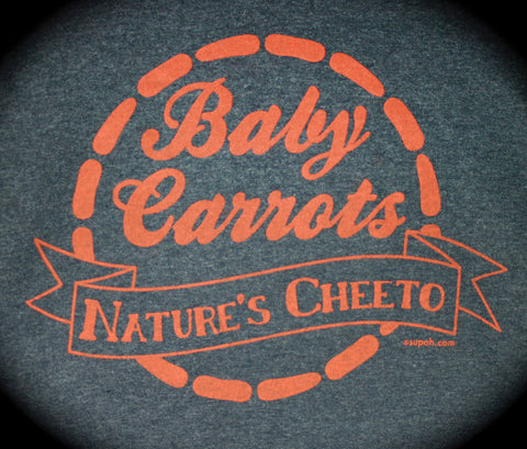 Baby Carrots: Nature's Cheeto Tee