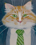 Highly Professional Business Cats Gicleé Print