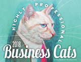 Business Cats Wall Calendar 2018