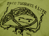 Taco Tuesday For Lyfe tshirt