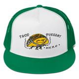 Taco Tuesday Hero Embroidered Trucker Cap