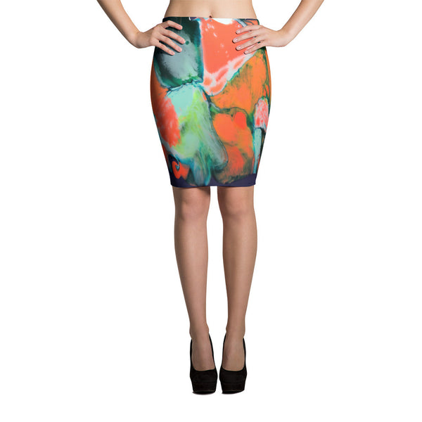 Kibby Cobb Pencil Skirt