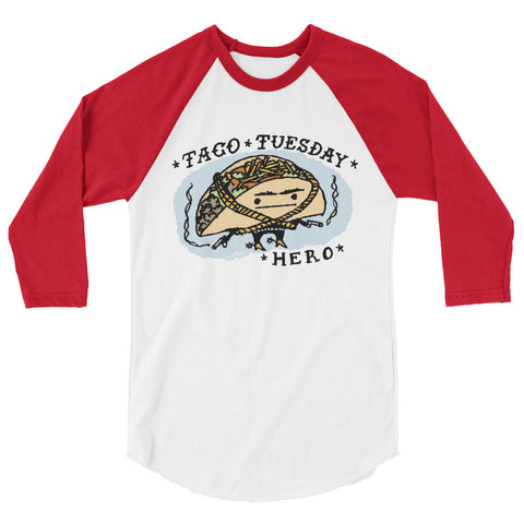 Taco Tuesday Hero Raglan Shirt