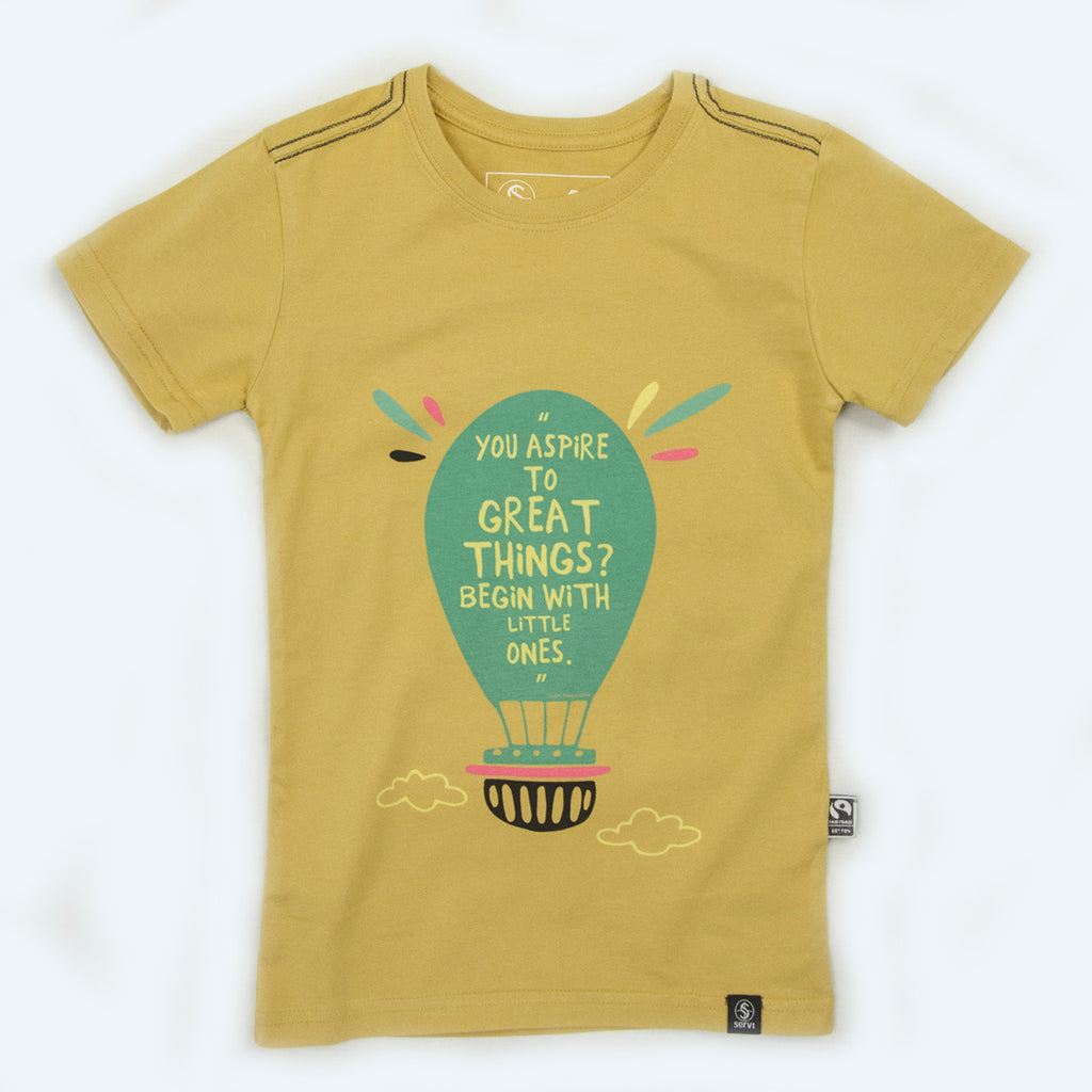 Kids Fairtrade organic cotton T-shirts - ASPIRE