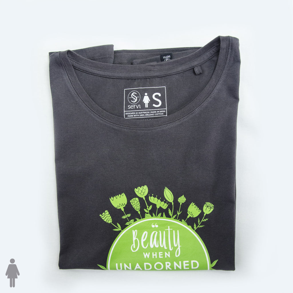 BEAUTY- Fairtrade organic cotton T-shirt