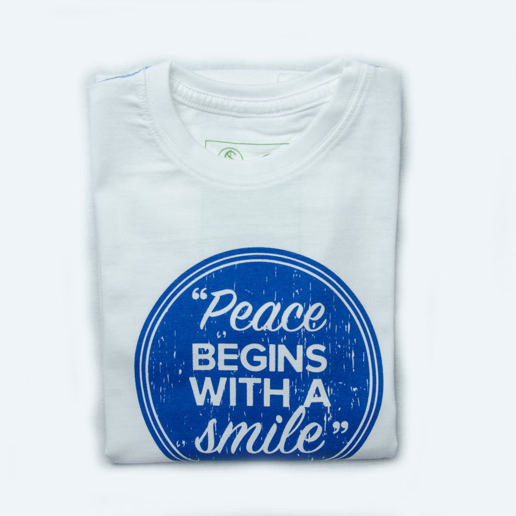 PEACE - Fairtrade organic cotton t-shirts for kids