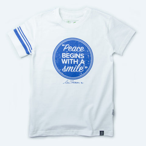 Kids Fairtrade organic cotton T-shirts - PEACE