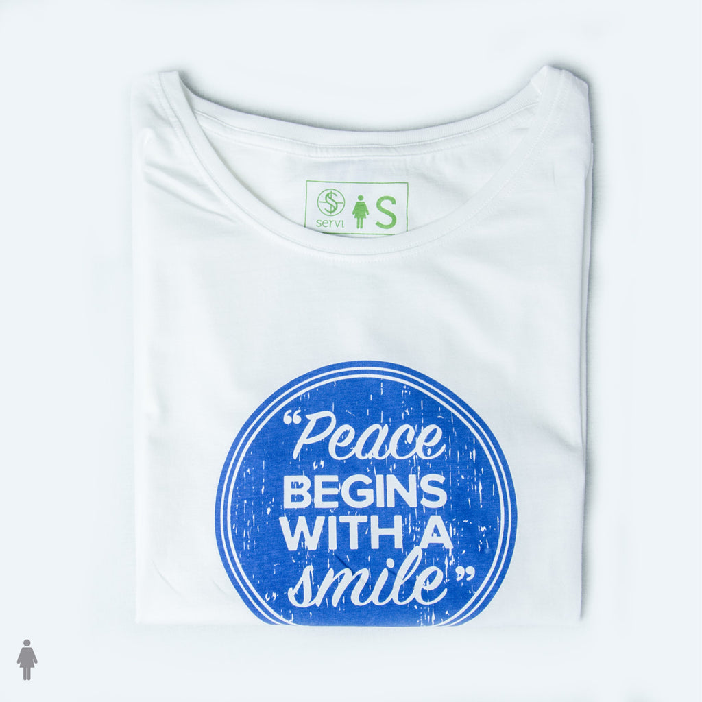 Adult Fairtrade organic cotton - PEACE