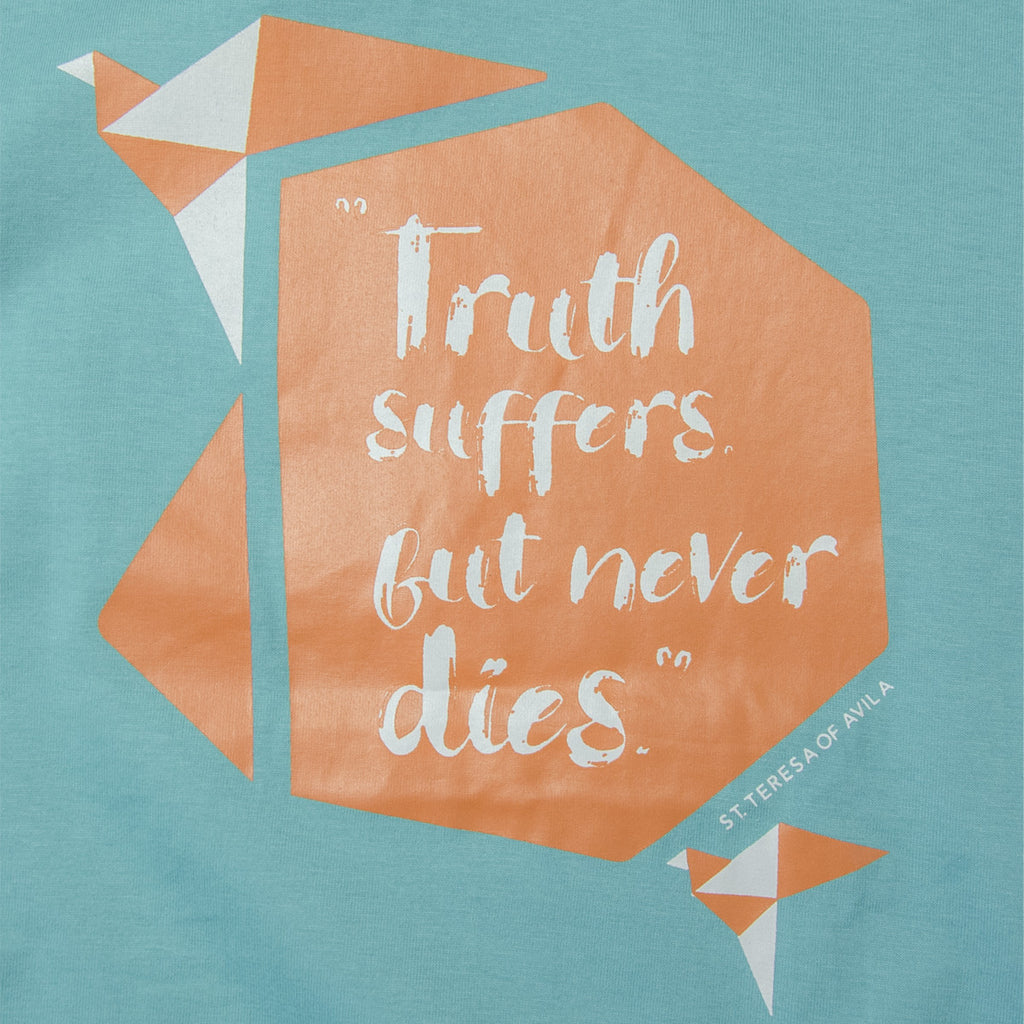 Kids Fairtrade organic cotton T-shirts - TRUTH