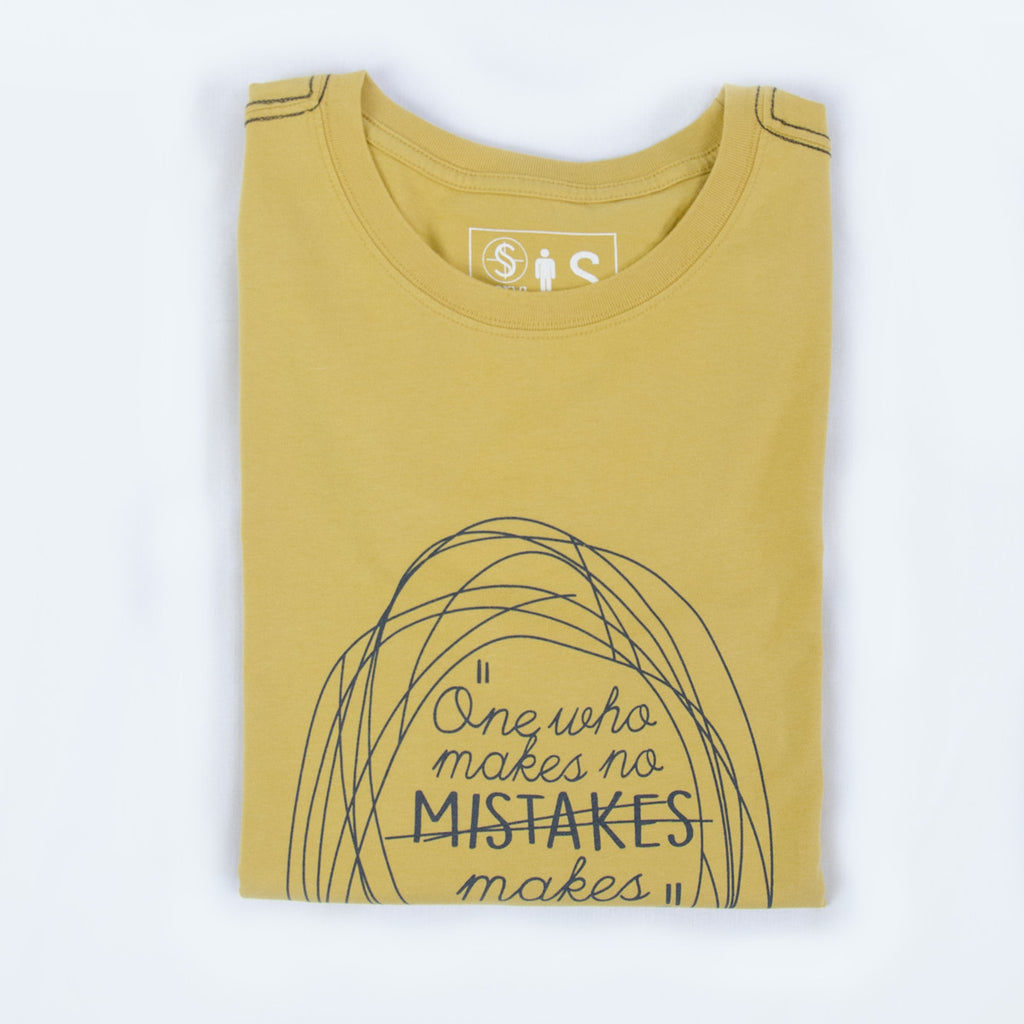 MISTAKES - Fairtrade organic cotton t-shirt