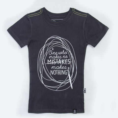 Kids Fairtrade organic cotton T-shirts - MISTAKES
