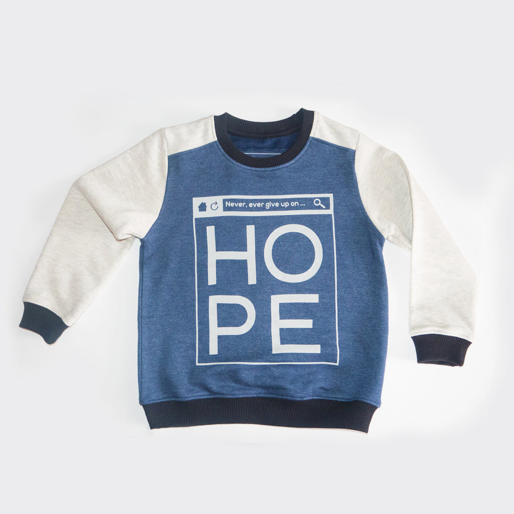 Kids Limited Edition Crewneck/Sweatshirt - HOPE