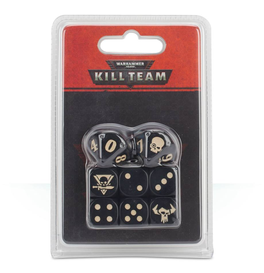 WH 40K KILL TEAM ORKS DICE DICEHEADdotCOM