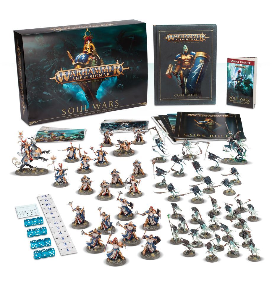 AGE OF SIGMAR: SOUL WARS (ADD $3 S&H) PRE-ORDER DICEHEADdotCOM