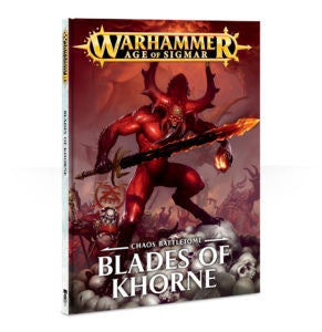 Chaos BATTLETOME BLADES OF KHORNE (HB)  DICEHEADdotCOM
