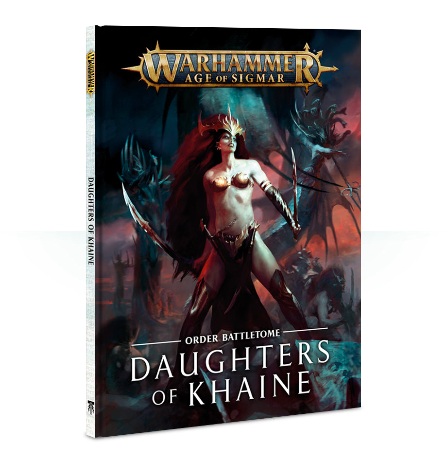 BATTLETOME DAUGHTERS OF KHAINE PRE-ORDER DICEHEADdotCOM