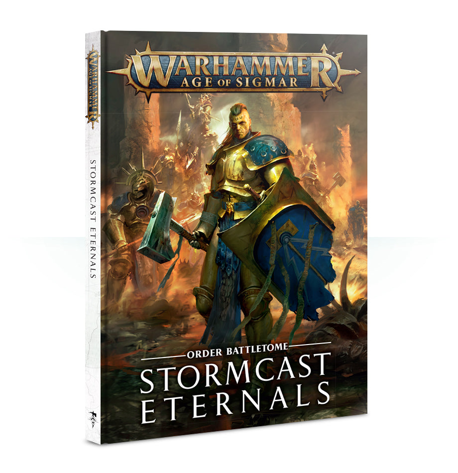 AGE OF SIGMAR BATTLETOME: STORMCAST ETERNALS DICEHEADdotCOM