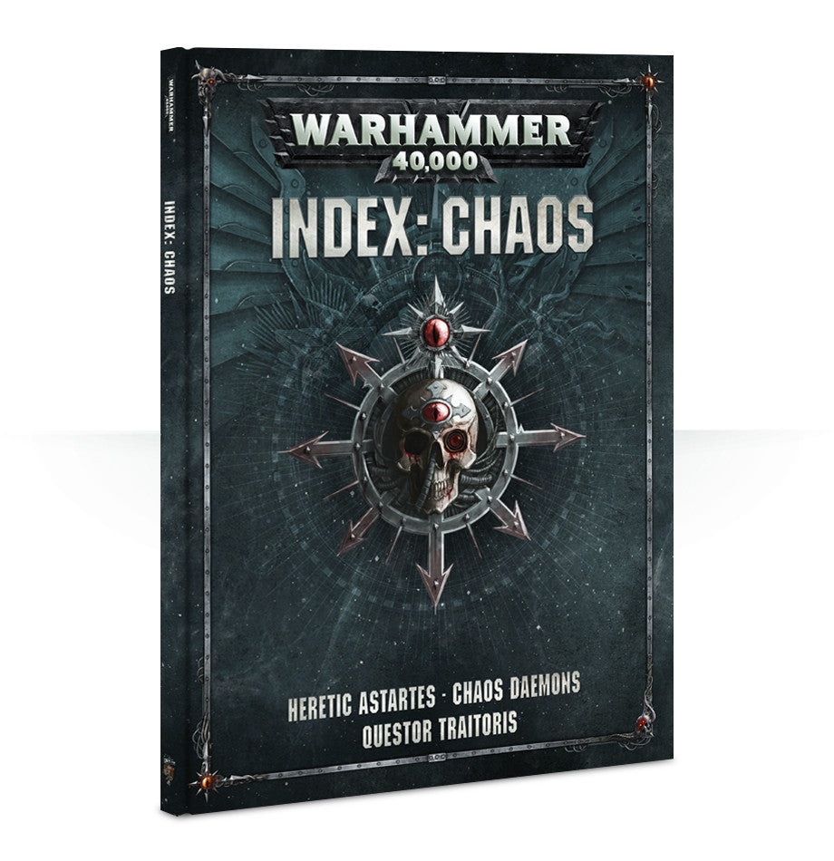 WARHAMMER 40k 8TH ED INDEX CHAOS  DICEHEADdotCOM