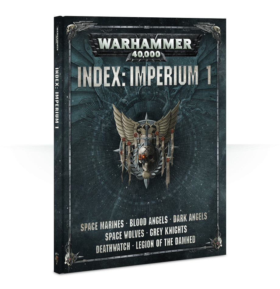 WARHAMMER 40k 8TH ED INDEX IMPERIUM VOL 1  DICEHEADdotCOM PRE-ORDER