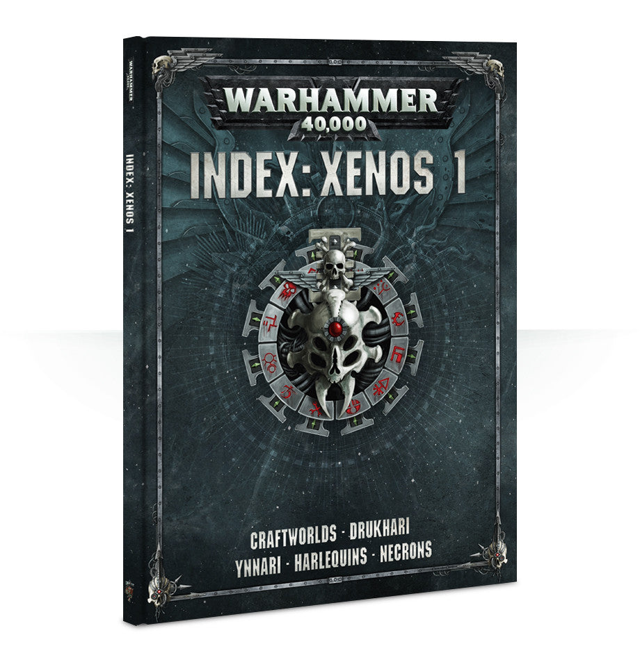 WARHAMMER 40k 8TH ED INDEX XENOS VOL 1  DICEHEADdotCOM PRE-ORDER