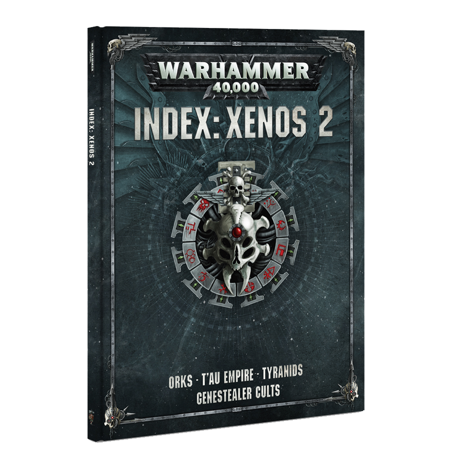 WARHAMMER 40k 8TH ED INDEX XENOS VOL 2  DICEHEADdotCOM