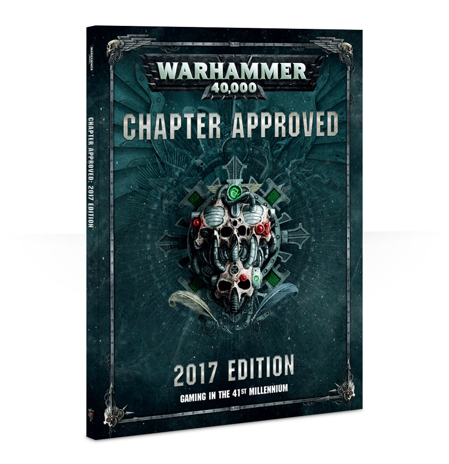 WARHAMMER 40000 CHAPTER APPROVED 2017 DICEHEADdotCOM