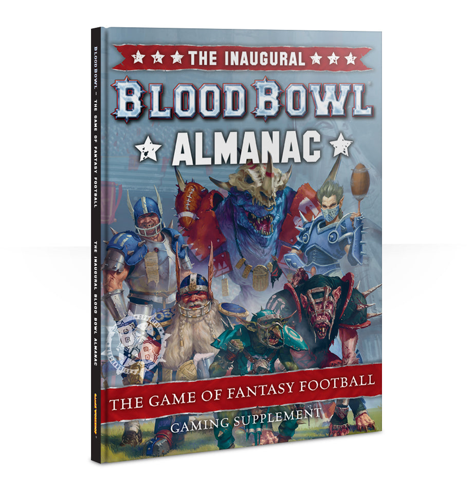 Blood Bowl Almanac 2017 DICEHEADdotCOM