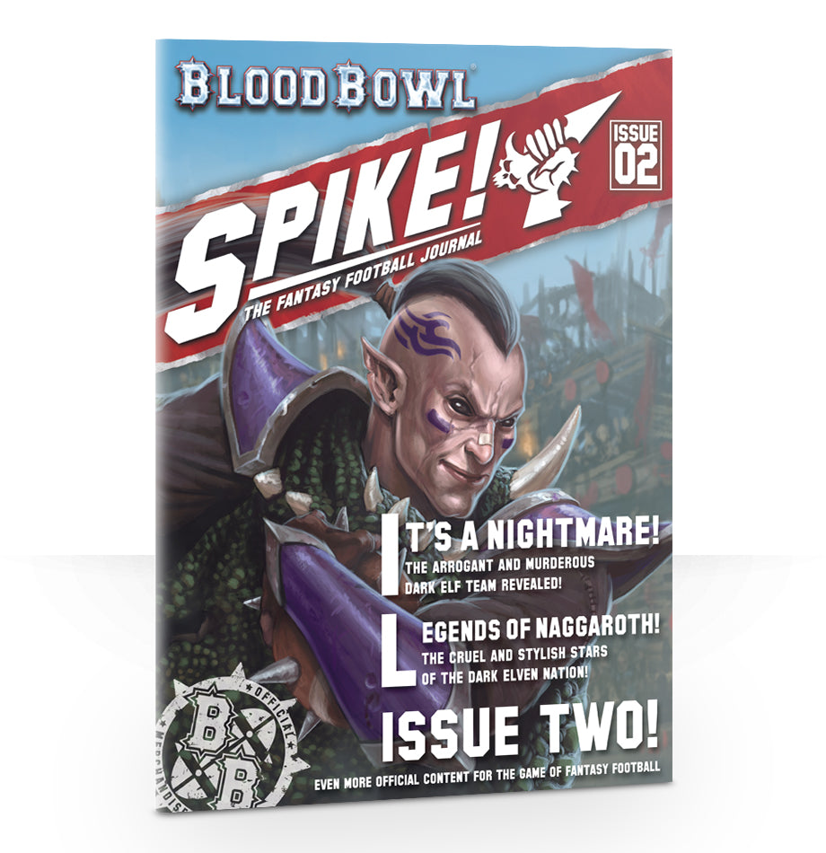 BLOOD BOWL SPIKE! JOURNAL ISSUE 2 PRE-ORDER DICEHEADdotCOM
