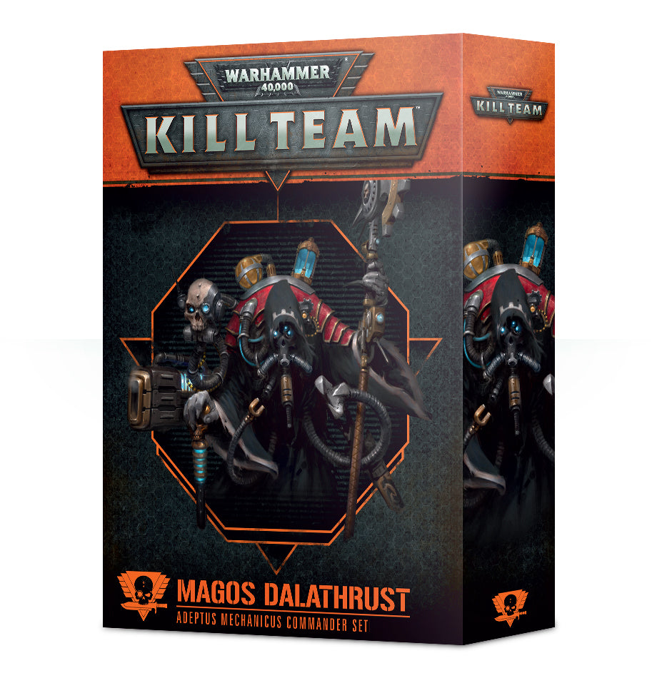 WH 40K KILL TEAM COMMANDER MAGOS DALATHRUST DICEHEADdotCOM