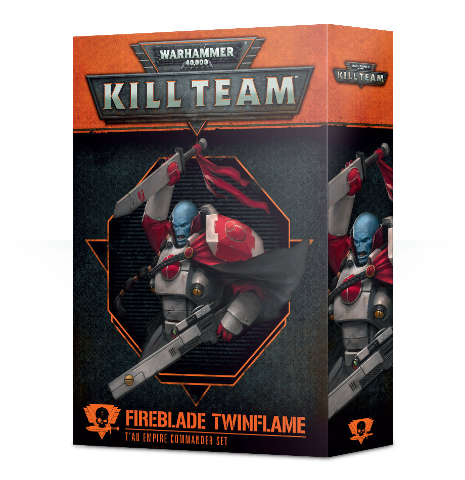 WH 40K KILL TEAM COMMANDER FIREBLADE TWINFLAME DICEHEADdotCOM
