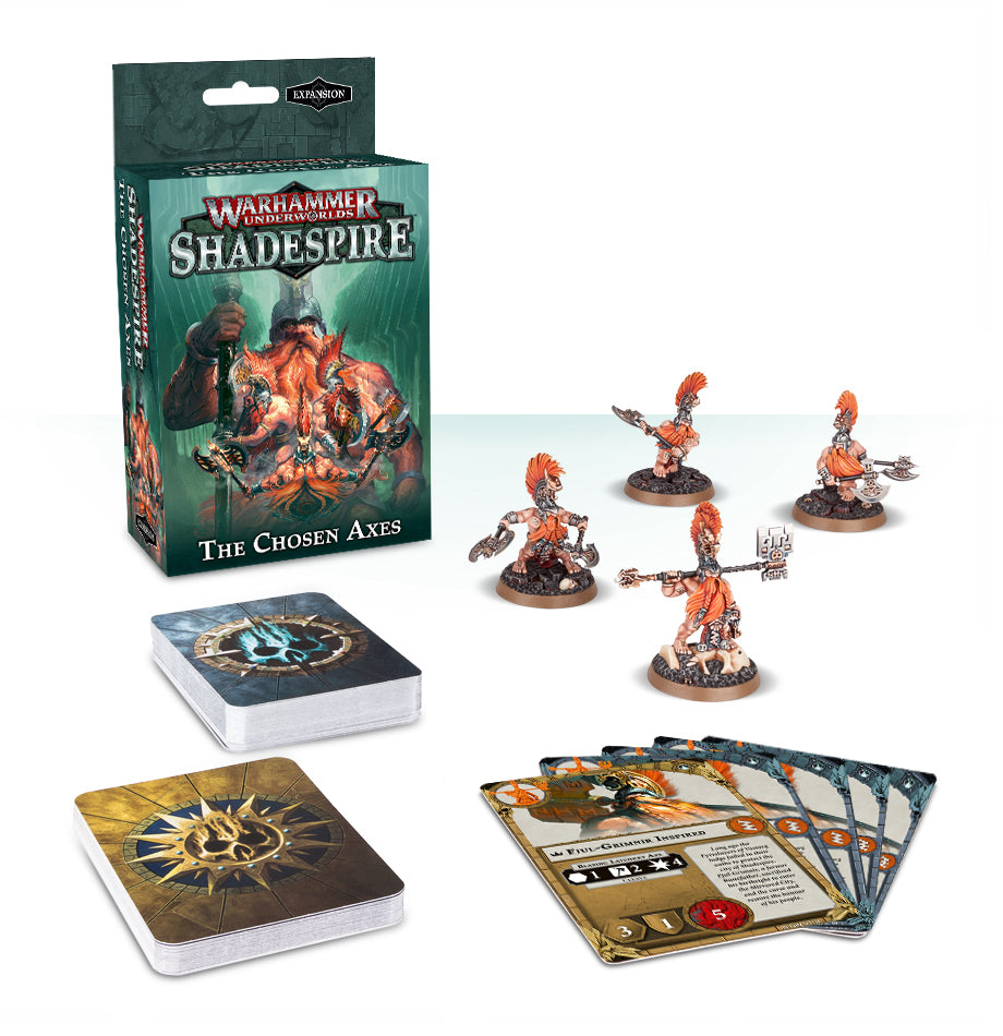 SHADESPIRE THE CHOSEN AXES DICEHEADdotCOM