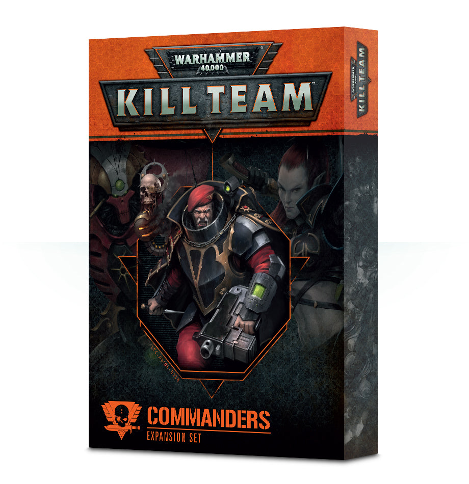 WH 40K KILL TEAM COMMANDERS DICEHEADdotCOM