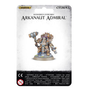 KHARADRON OVERLORDS ARKANAUT ADMIRAL DICEHEADdotCOM
