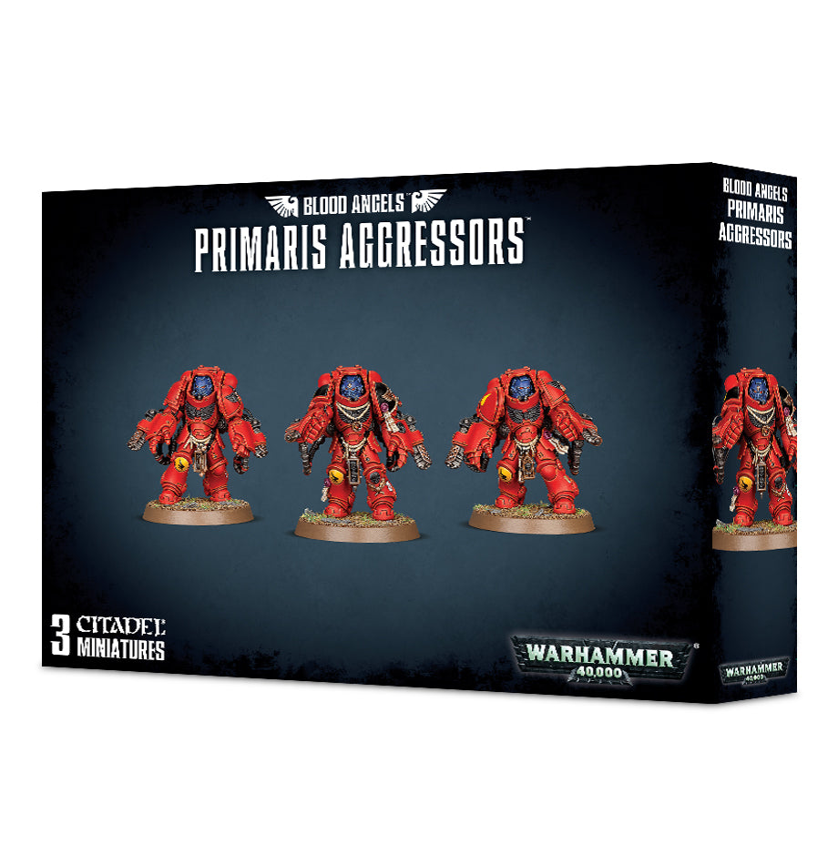 Blood Angels Aggressors DICEHEADdotCOM