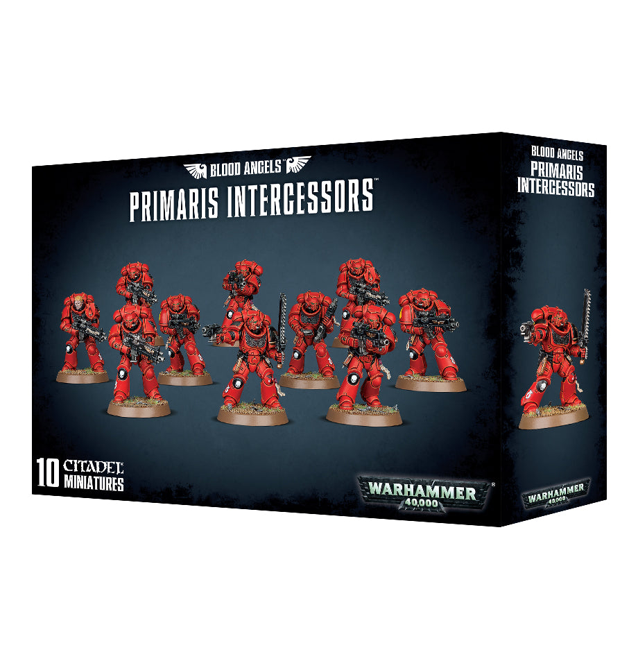Blood Angels Primaris Intercessors DICEHEADdotCOM