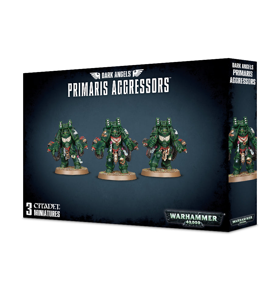 DARK ANGELS PRIMARIS AGGRESSORS DICEHEADdotCOM