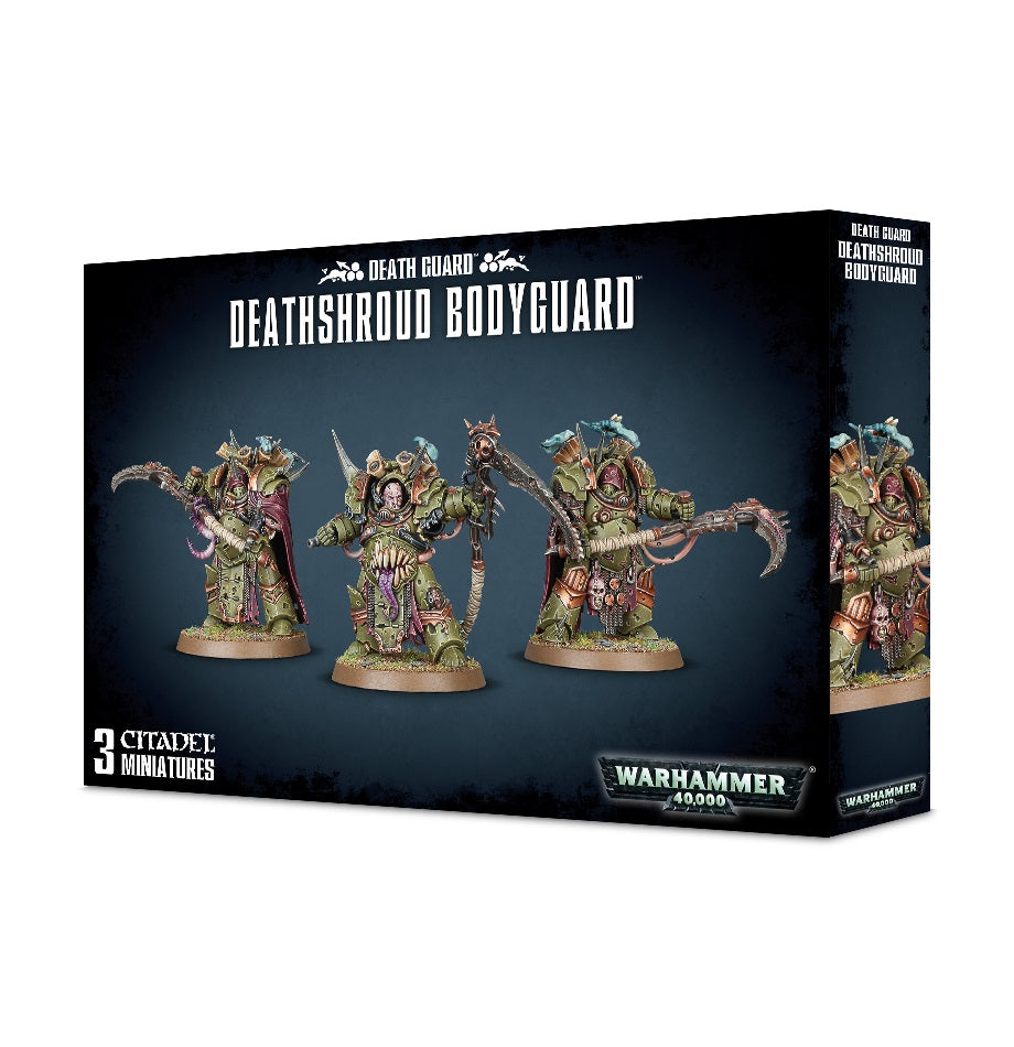 Death Guard Deathshroud Bodyguard DICEHEADdotCOM