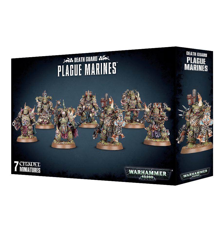 DEATH GUARD PLAGUE MARINES DICEHEADdotCOM