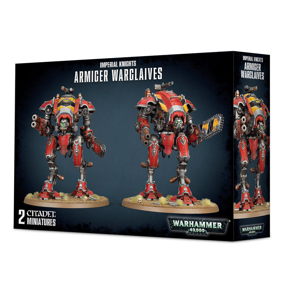 IMPERIAL KNIGHTS ARMIGER WARGLAIVES DICEHEADdotCOM