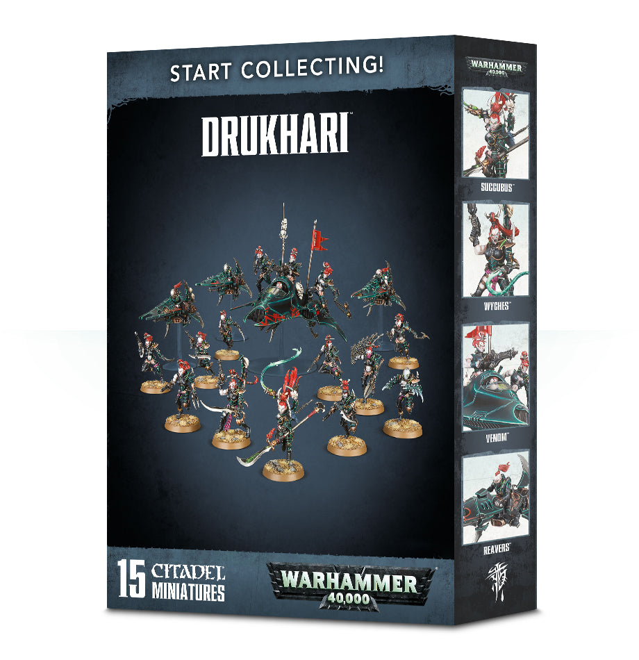 START COLLECTING! DRUKHARI 2018 DICEHEADdotCOM