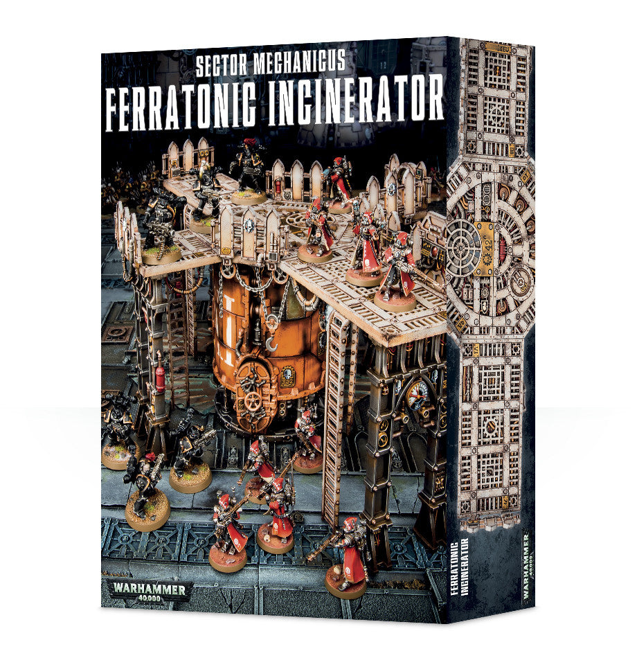 SECTOR MECHANICUS FERRATONIC INCINERATOR SPECIAL ORDER DICEHEADdotCOM