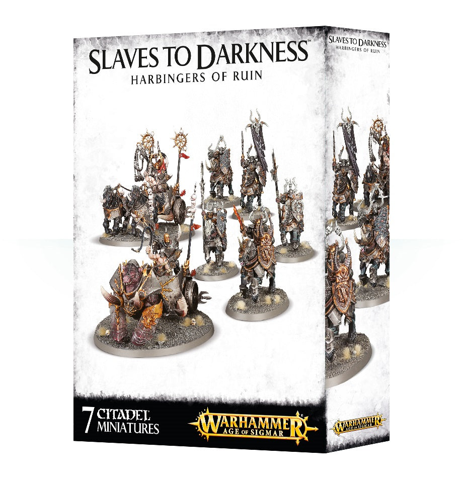 SLAVES TO DARKNESS HARBINGERS OF RUIN DICEHEADdotCOM